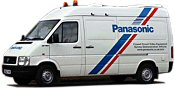 Sovereign Panasonic Mobile Surveillance Van