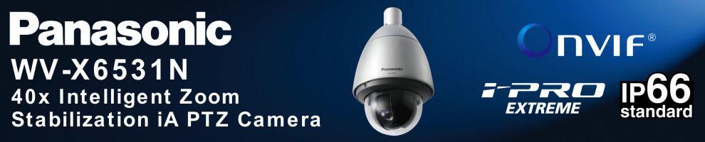 Panasonic WV-X6531N HD Network iA Dome Camera