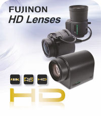 Fujinon High Definition (HD) Surveillance Lenses