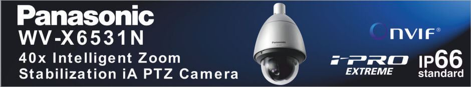 Panasonic WV-X6531N HD Network iA Dome Camera