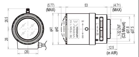 Tamron 13VG2812AS Lens