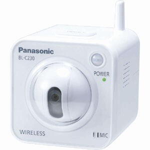 Panasonic BLC210 H.264/MPEG4 Home Network Camera