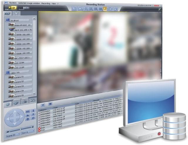 Bosch BRSDVD16A Recording Station Software