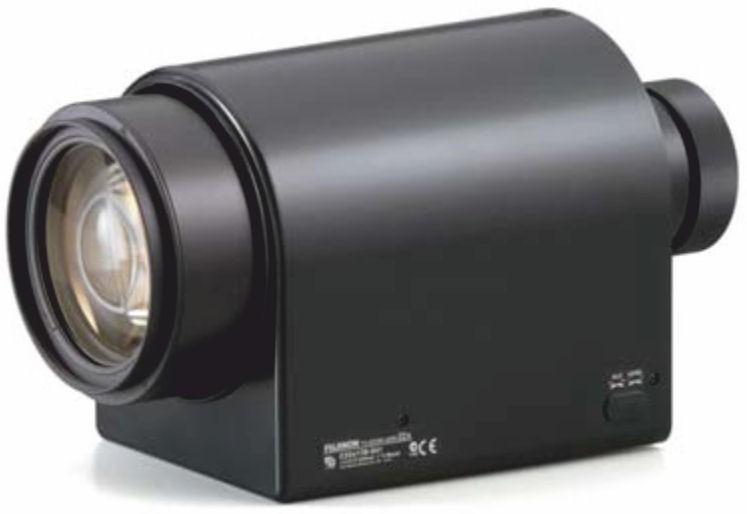 "Fujinon C22x17R3J-SSF 1"" Telephoto Zoom Day / Night Lens"
