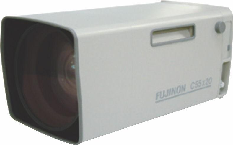 "Fujinon C55x20P-EP1B 1"" Telephoto Zoom Lens"