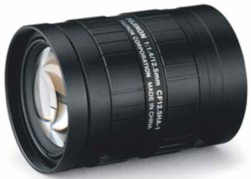 "Fujinon CF12.5HA-1 1"" Fixed Focal 1.5-Megapixel Lens"