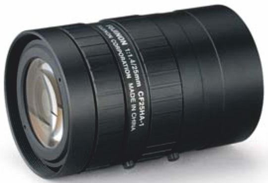 """Fujinon CF25HA-1 1"""" Fixed Focal 1.5-Megapixel Lens"""