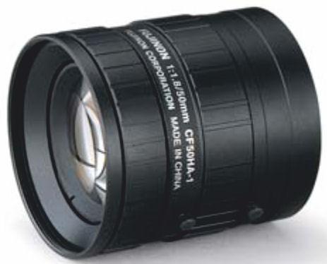 """Fujinon CF50HA-1 1"""" Fixed Focal 1.5-Megapixel Lens"""