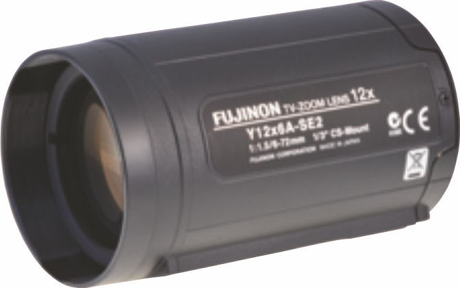 "Fujinon D12x8A-YE2 1/2"" Zoom Lens"