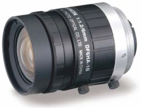 "Fujinon DF6HA-1B 1/2"" Fixed Focal 1.5 Megapixel Lens"