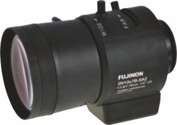 "Fujinon DV10x7B-SA2L 1/2"" Vari-Focal DC auto iris Lens"