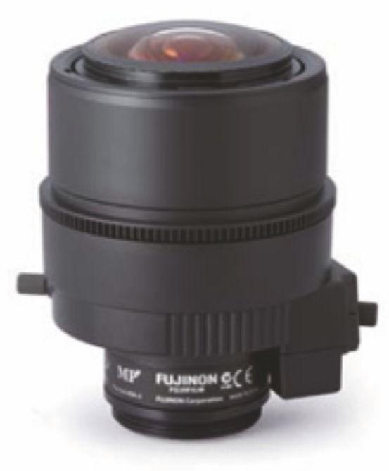 """Fujinon DV3.4x3.8SA-1 1/1.8"""" Vari-Focal 3 Megapixel Manual iris Lens"""