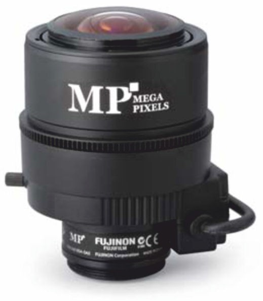 "Fujinon DV3.4x3.8SA-SA1L 1/2"" Vari-Focal 3 Megapixel DC auto iris Lens"