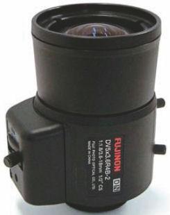 """Fujinon DV5x3.6R4B-2 1/2"""" Vari-Focal. Day/Night manual Lens"""