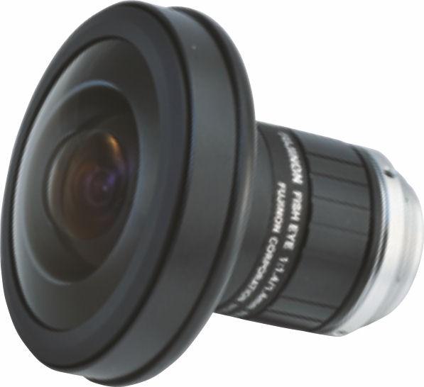 """Fujinon FE185C046HA-1 1/2"""" Fish-Eye lens 5 Megapixel Manual iris Lens"""