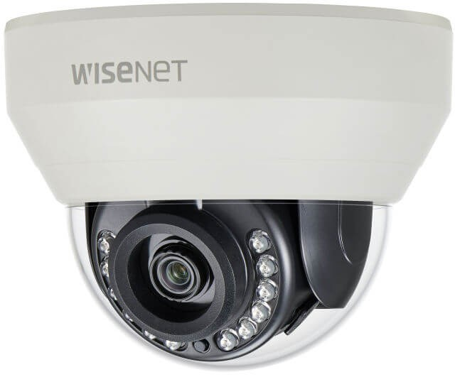 Samsung / Hanwha HCD7020R QHD (4MP) Analog IR Dome Camera