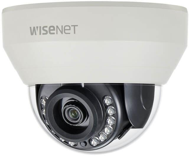 Samsung / Hanwha HCD7030R QHD (4MP) Analog IR Dome Camera