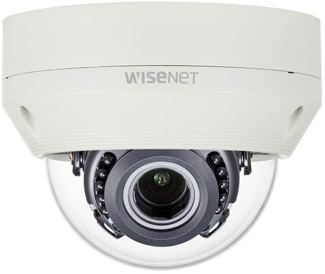 Samsung / Hanwha HCV6080R 1080p Analog HD Vandal-Resistant IR Dome Camera