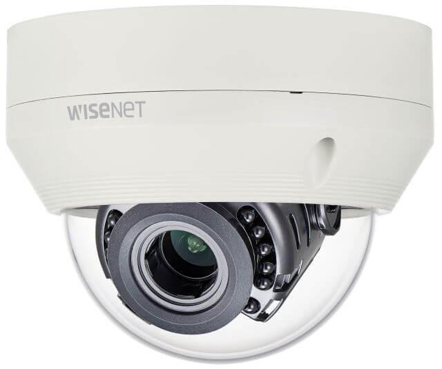 Samsung / Hanwha HCV7070R QHD (4MP) Analog Vandal-Resistant IR Dome Camera