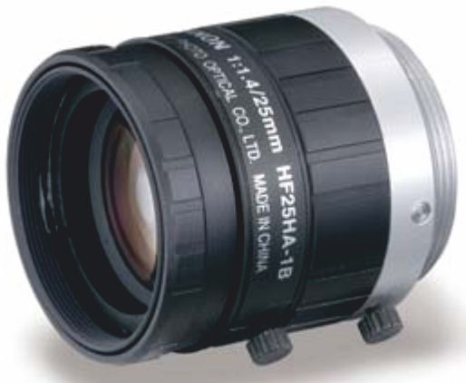 "Fujinon HF25HA-1B 2/3"" Fixed Focal 1.5 Megapixel Lens"