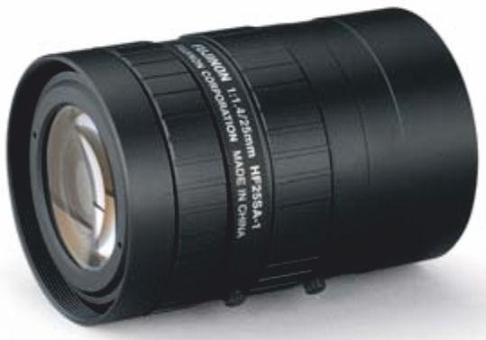 """Fujinon HF25SA-1 2/3"""" Fixed Focal 5 Mega Pixel Lens"""
