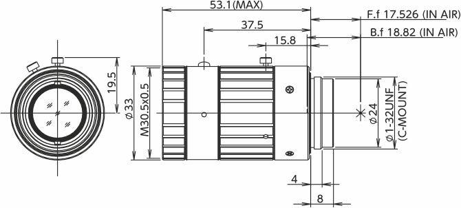 Fujinon HF3520-12M Fixed Focal 12 Megapixel Lens