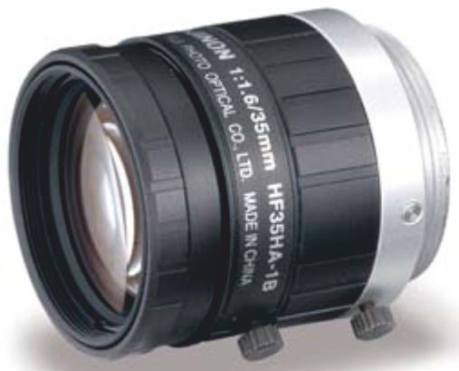 "Fujinon HF35HA-1B 2/3"" Fixed Focal 1.5 Megapixel Lens"