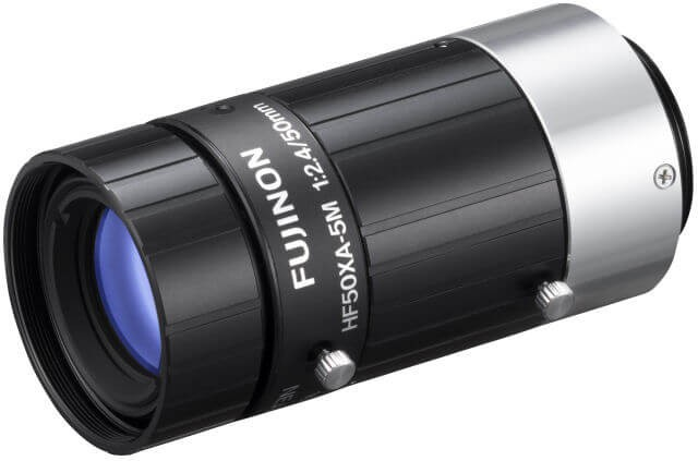 "Fujinon HF50XA-5M 2/3"" Fixed Focal Lenses"
