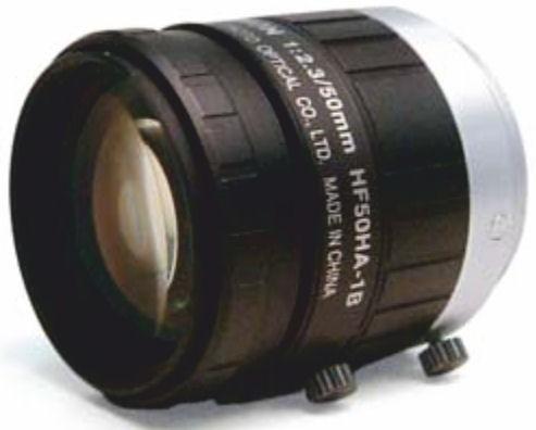 """Fujinon HF50HA-1B 2/3"""" Fixed Focal 1.5 Megapixel Lens"""