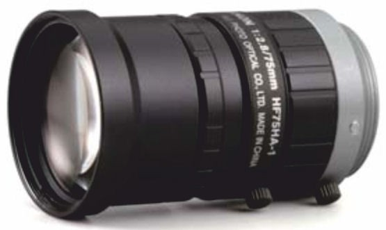 "Fujinon HF75HA-1B 2/3"" Fixed Focal 1.5 Megapixel Lens"