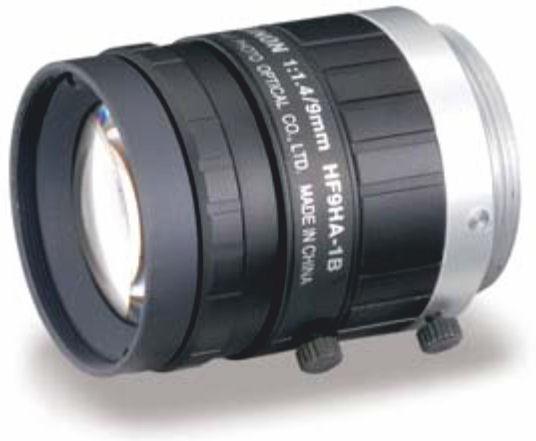 """Fujinon HF9HA-1B 2/3"""" Fixed Focal 1.5 Megapixel Lens"""