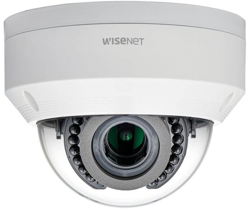 Samsung / Hanwha LNV6070R 2 Megapixel Network IR Dome Camera