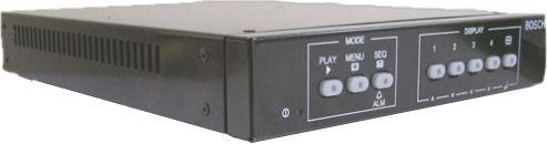 Bosch LTC238290 Programmable Digital Video Quad Processor