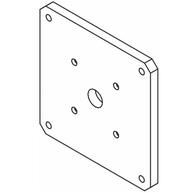 Bosch MICSPRG MIC 400 Series Brackets