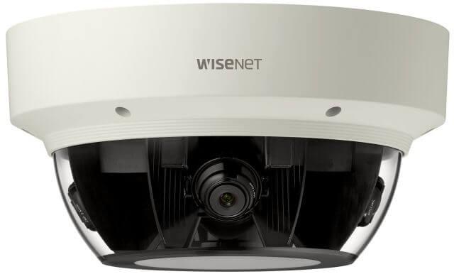 Samsung / Hanwha PNM9000VQ 8M to 20M H.265 Multi-directional Camera