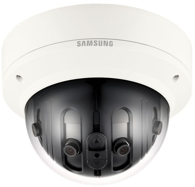 Samsung / Hanwha PNM9020V 7.3 Megapixel Multi-sensor 180˚ Panoramic Camera