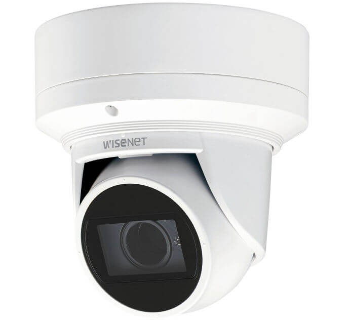 Samsung / Hanwha QNE7080RVW 4 Megapixel H.265 Network IR Flateye Camera