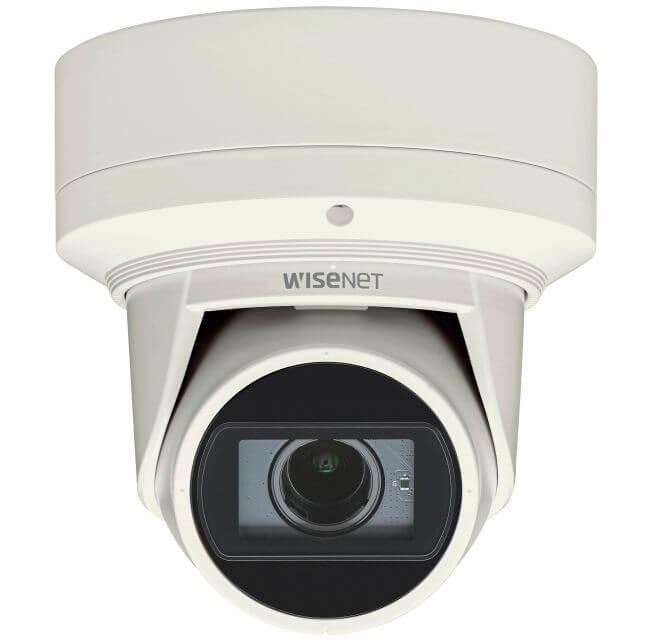 Samsung / Hanwha QNE6080RV 2 Megapixel H.265 Networrk IR Flateye Camera