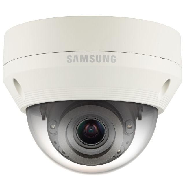 Samsung / Hanwha QNV7080R 4 Megapixel Vandal-Resistant Network IR Dome Camera