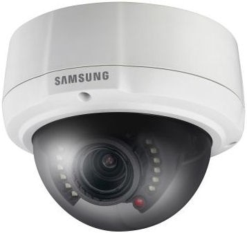 Samsung SCV2082R Premium Resolution Vandal-Resistant IR Dome Camera