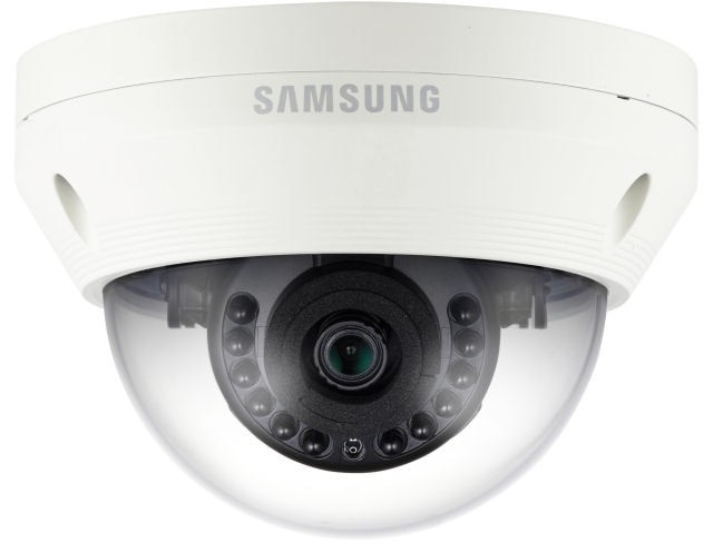 Samsung / Hanwha SCV6023R 1080p Analog HD Vandal-Resistant IR Dome Camera