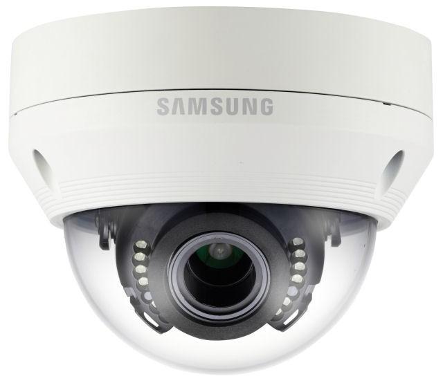 Samsung / Hanwha SCV6083R 1080p Full-HD IR Vandal Resistant Dome Camera