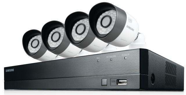 Samsung SDHB73040 4 Channel Full HD DVR Security System