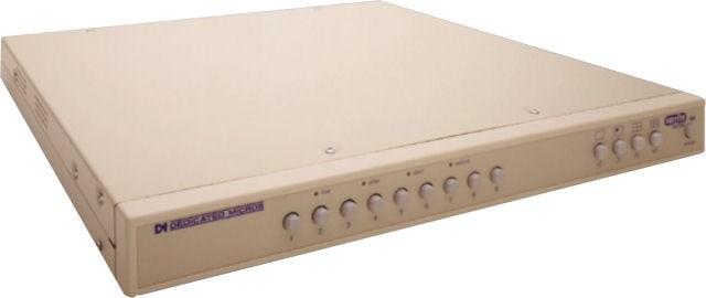 Dedicated Micros SLSX9C 9 Channel Colour Simplex Multiplexer