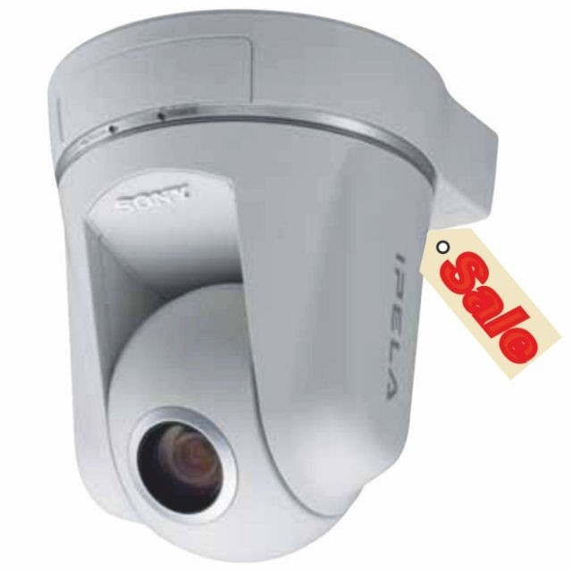 Sony SNCRZ50P Network PTZ Security Camera