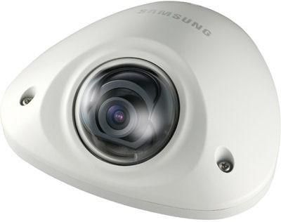 "Samsung / Hanwha SNV6012M 2 Megapixel 1/2.8"" External Vandal Flat Dome Camera"