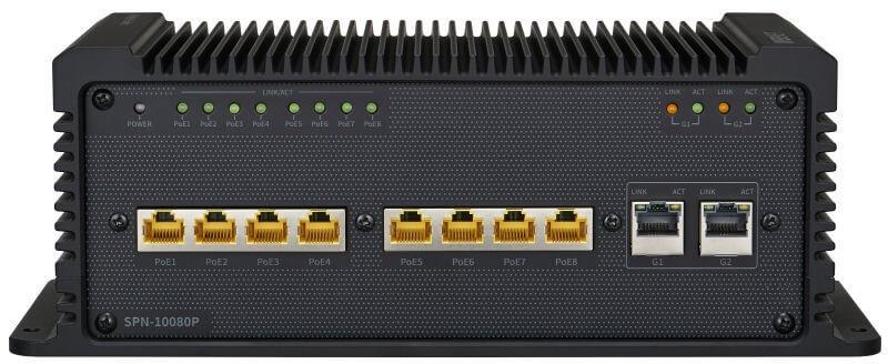 Samsung / Hanwha SPN10080P 8-Port PoE Network Switch