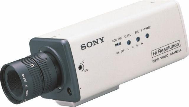 """Sony SPTM304 1/3"""" Monochrome Camera 24V"""