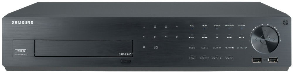 Samsung SRD854D 8CH CIF Real-time H.264 Digital Video Recorder (500GB)