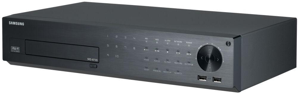 Samsung SRD873DP1T/EU 8CH 4CIF Real-time H.264 Digital Video Recorder